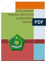 Standar Pelayanan Minimal Penyuluh Agama Hindu Non PNS