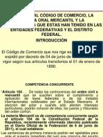 Presentación Reformas alL Código de Comercio Lic  García Macías 18 XI 2011