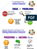 building mathematical character 8practices posters