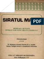 SIRATUL MAHDI (Petikan _-Hz Maulvi Sher Ali r.a.