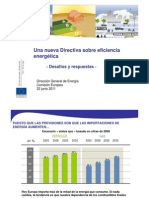 20110622 Energy Efficiency Directive Es Slides Presentation