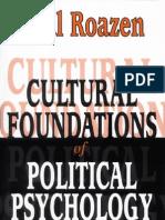 fundamentos culturales de la psicología política