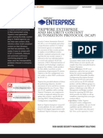Tripwire Enterprise SCAP Datasheet
