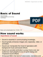Basic of Sound