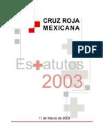 Estatutos de Cruz Roja Mexicana