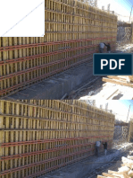 5.4 m Wall Formwork Calculations and Pictures