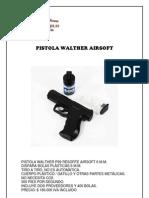 Cotizacion de Pistolas de Gas