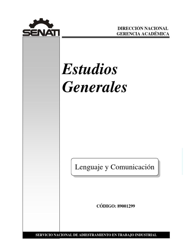 Senati Lenguaje y Comunicacion