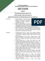 Peraturan Bersama Menteri Dalam Negeri Dan Menteri Kebudayaan Dan Pariwisata Tentang Pedoman Pelestarian Kebudayaan