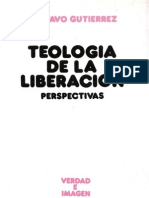 Gustavo Gutierrez, Teología de la liberación. Perspectivas 14º Ed.