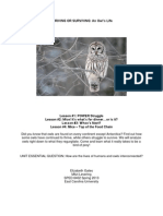 Gates and Levering - An Owl's Life - Thriving or Surving.docx