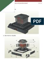 Ho Chi Minh Mausoleum PaperCraft [Instructions]