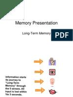 Memory Presentation