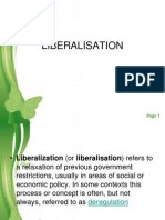 5 Liberalisation