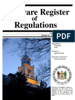 Delaware Register of Regulation February 2009