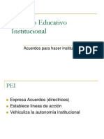 Power 4 Proyecto Educativo Institucional