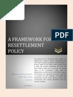 Framework for Resettlement Policy Sri Lanka Updated on 15-07-2013