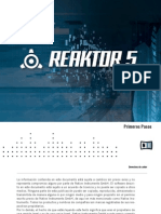 Reaktor 5 Getting Started Spanish