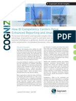 How BI Competency Centers Drive Enhanced Reporting and Analytics