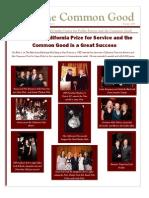McCarthy Center Summer Newsletter 2008 (The Common Good)