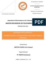 Optimisation Des Antennes Intelligentes