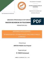 Optimisation Des Antennes Intelligentes