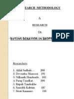 researchreportonconsumerbuyingbehaviorinshoppingmall