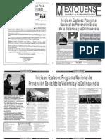 Versión impresa del periódico El mexiquense  18 julio 2013