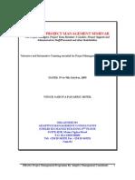 Effective Project Management Programme-oct