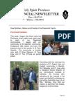 Provincial Newsletter Ed 031 - 18 07 13