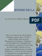 EL TRASFONDO DE LA CARRERA PÚBLICA MAGISTERIAL  LA VERDADERA OLA