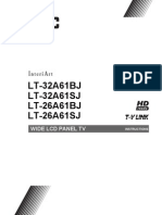 LT32A61BJSJ manual