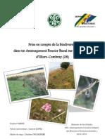 Mémoire de fin d'études M2 « Aménagement et Gestion Intégrée des Ressources Environnementales » 2010-2011