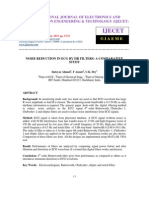Noise Reduction in Ecg by Iir Filters a Comparative Study