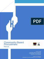 Community-Based Procurement Manual (Nov2011)