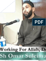 Working for Allah Despite the Obstacles with Sheikh Omar Suleiman (ILF Texas, ICNA, MAS, YM)