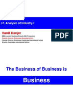 L2 Analysis of Industry I