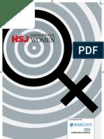 HSJ Lists 50 Inspirational Women 2013