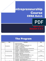 eMBA Nov12 Session 5 and 6