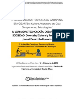 IV JORNADAS DESARROLLO HUMANO TECNOLOGIA Y SOCIEDAD