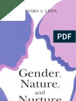 1.Gender, Nature, And Nurture