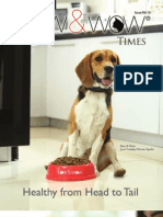Bow & Wow Times Issue No. 16 V2 - Healthy From Head To Tail