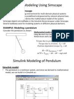 Pendulum Simulink