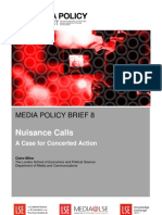 LSE MPP Policy Brief 8 Nuisance Calls