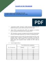 Brief of Dpc Procedure