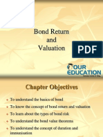 Bond Return and Valuation