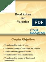 Bond Return and Valuation