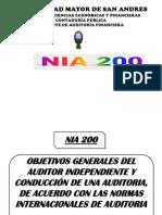 NIA 200 Diapositivas