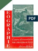 Géographie CE1-CE2 Géographie François-Villin