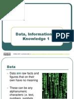 Data vs Information